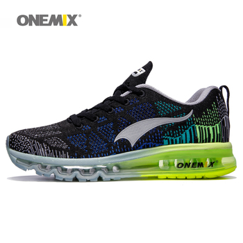 Onemix men's running shoes outdoor athletic gym sneakers male sport shoes zapatos de hombre breathable walking shoes size 39-46