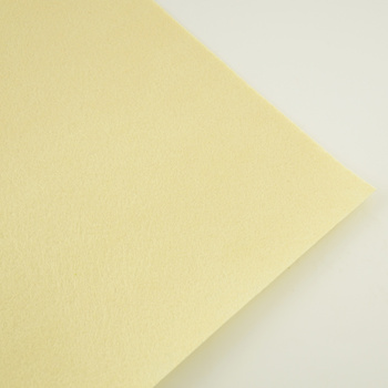 Nonwoven Polyester for Accessories Christmas Crafts 1mm Thick Clean Materials Felt Fabric Placemat Tradmarks Beige Color