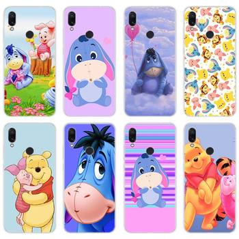 The Winnie Pooh Silicone soft Cases Cover for Xiaomi Redmi Note 7 4X 5 6 5A 6A 6 Pro S2 Mi A1 A2 8 Lite Phone case