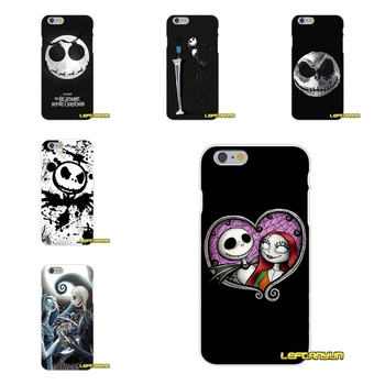 Telefon Kılıfı Jack Skellington Nightmare Before Christmas Için Samsung Galaxy S3 S4 S5 MINI S6 S7 kenar S8 S9 Artı Not 2 3 4 5 8