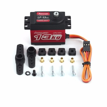 LF-13MG 65g 6.6 V Dijital Metal Dişli Servo 13 kg Direksiyon Servo için 1/10 1/8 RC On-road araba Paletli Buggy Tekne Drop Shipping